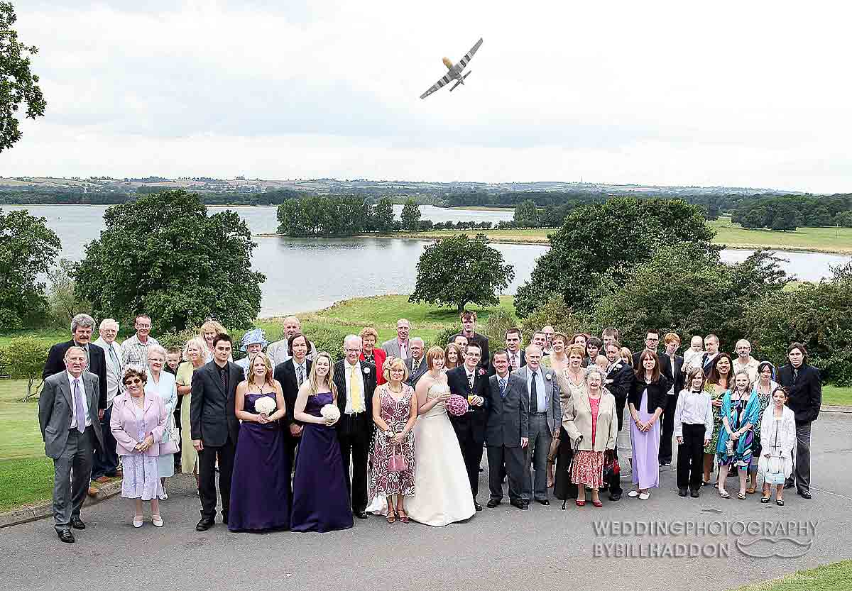 Barnsdale Hall wedding