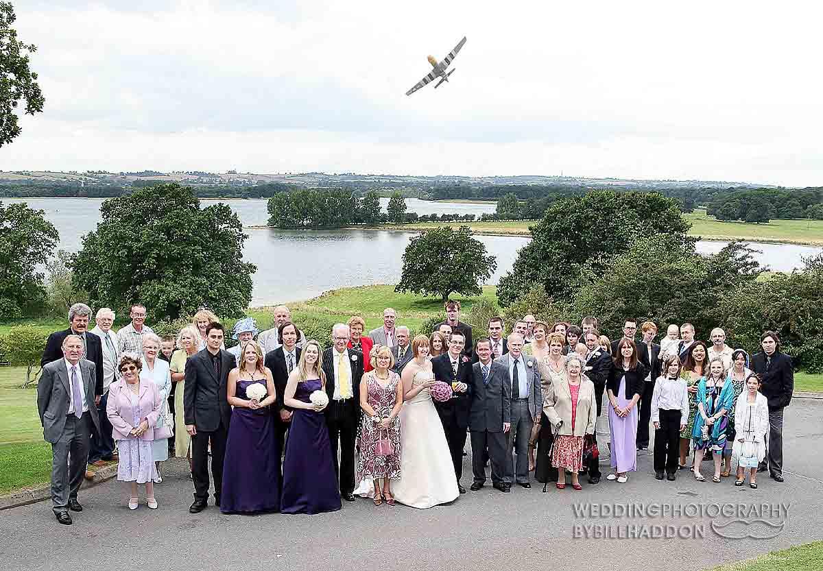 Barnsdale Hall wedding