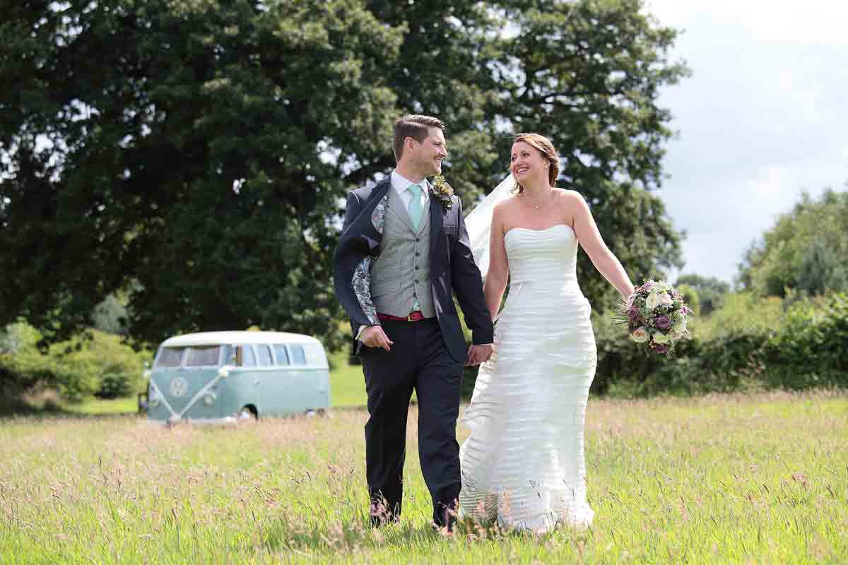 Bawdon Lodge Farm wedding photo
