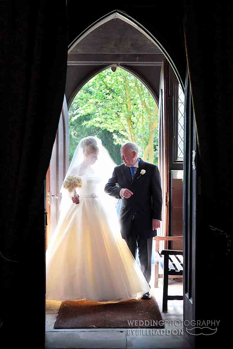 Leicester Church wedding photo