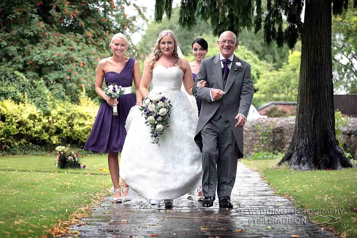 """Church wedding leicester St Andrews"