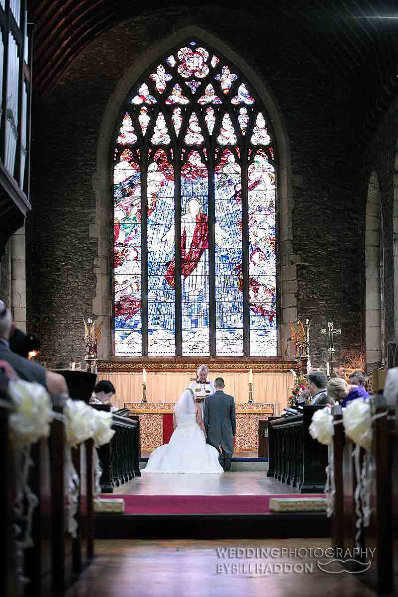 Church wedding leicester St Andrews