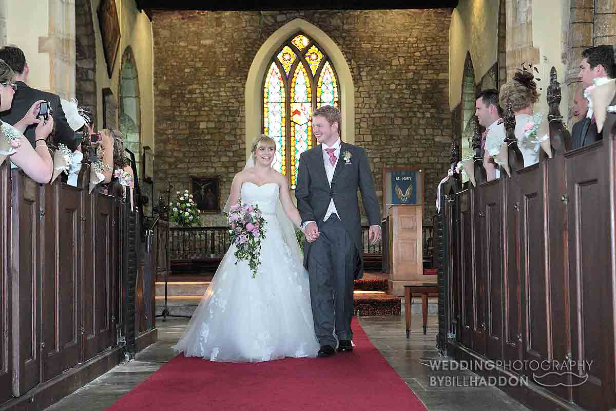 St Mary's Church Barkby wedding leicester