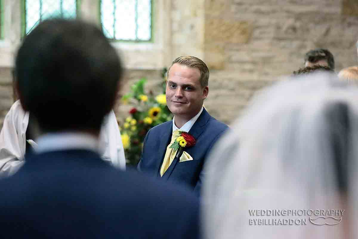 Brooksby Church wedding