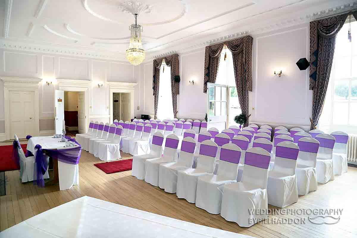 Brooksby Hall wedding ceremony