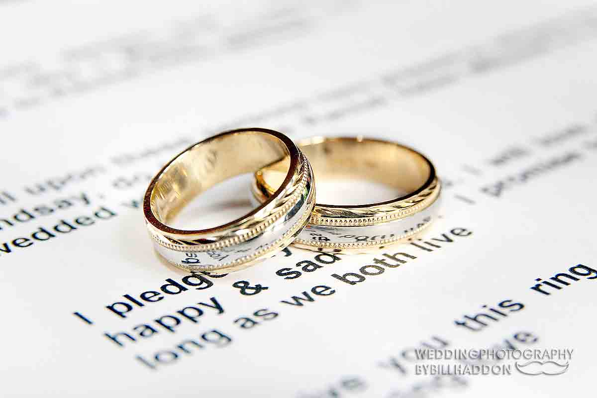 Leicester wedding rings