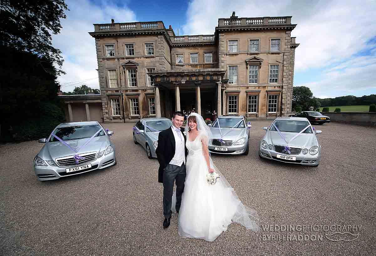 Prestwold Hall wedding cars