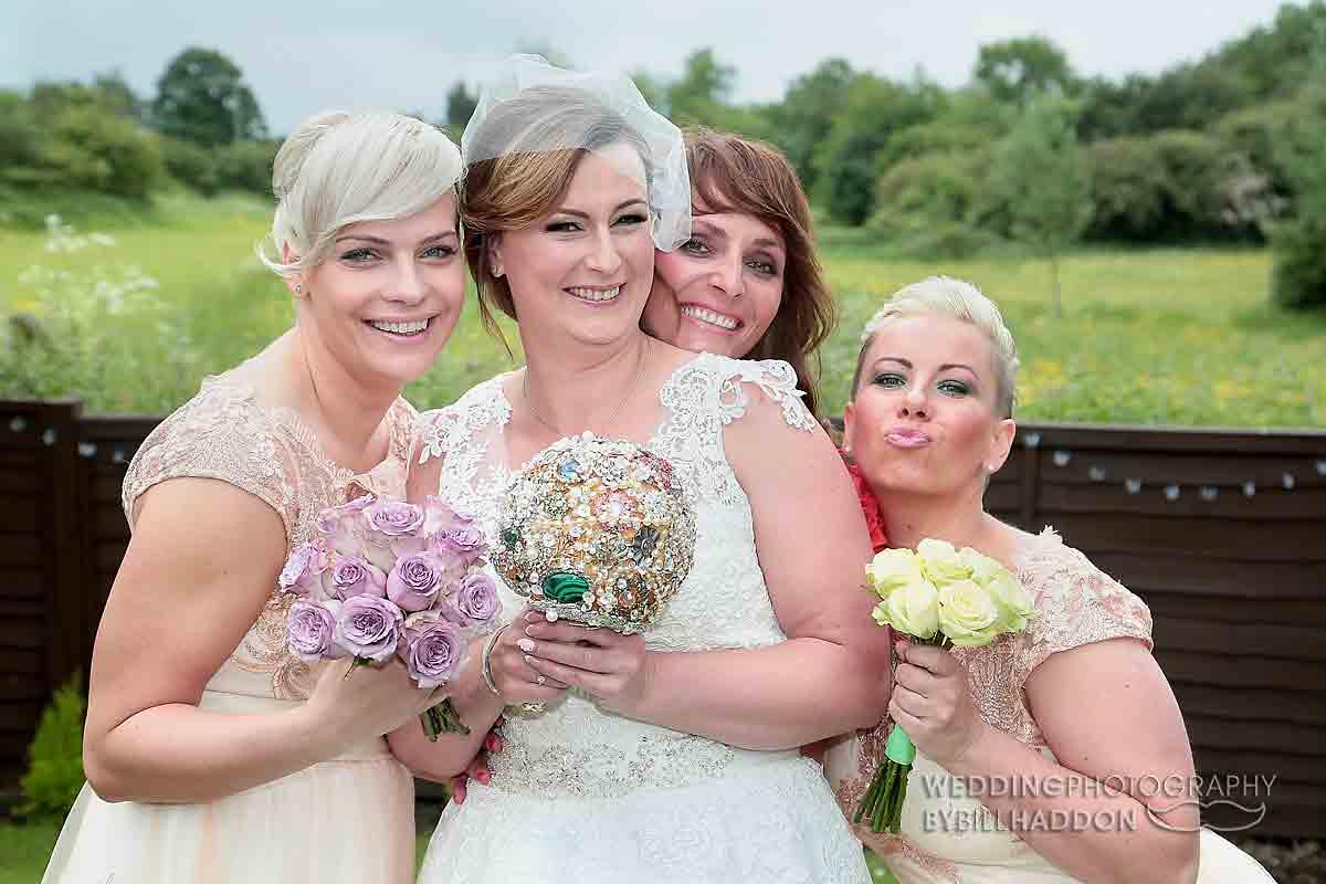 Leicester bridal prep wedding photography