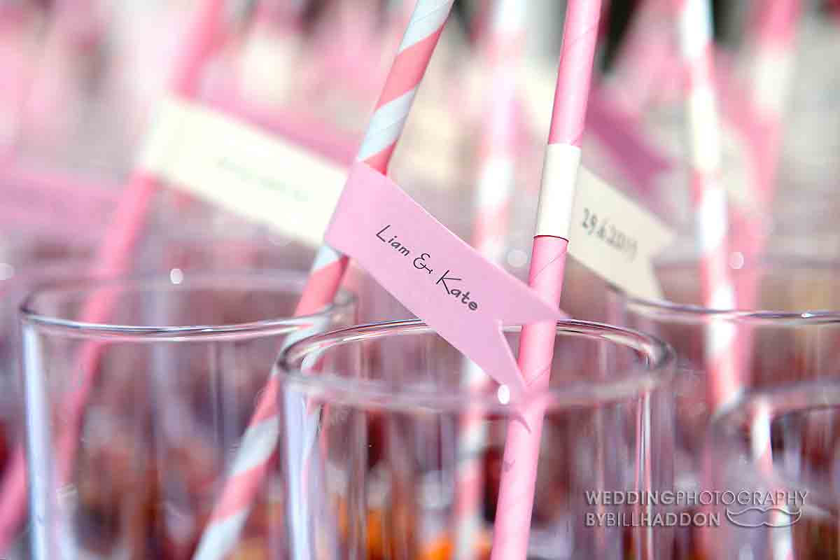 D.I.Y wedding decoration ideas. Keythorpe Manor