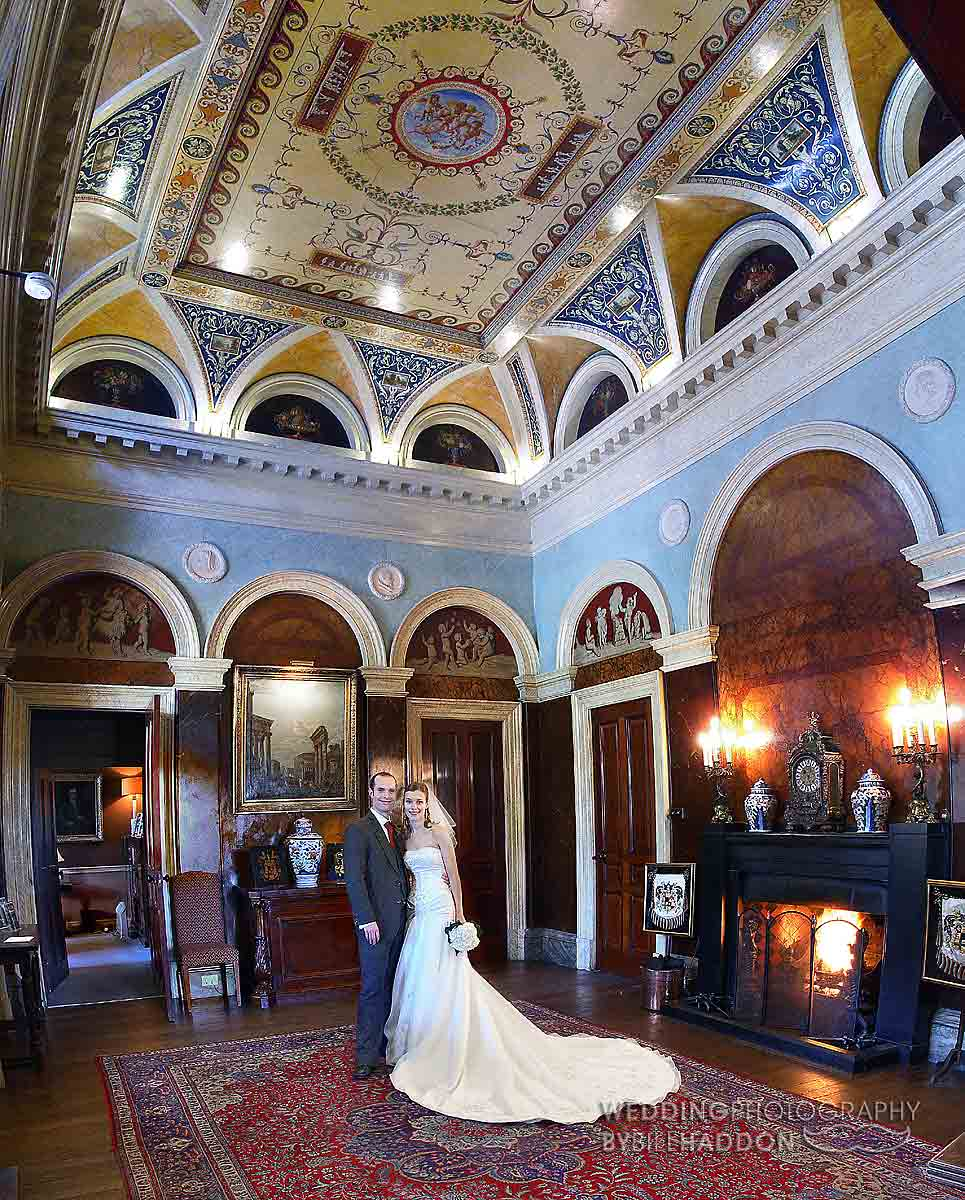Prestwold Hall wedding image